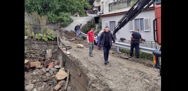 Ζημιές σε 20 σπίτια σε Μακρυράχη και Ζαγορά