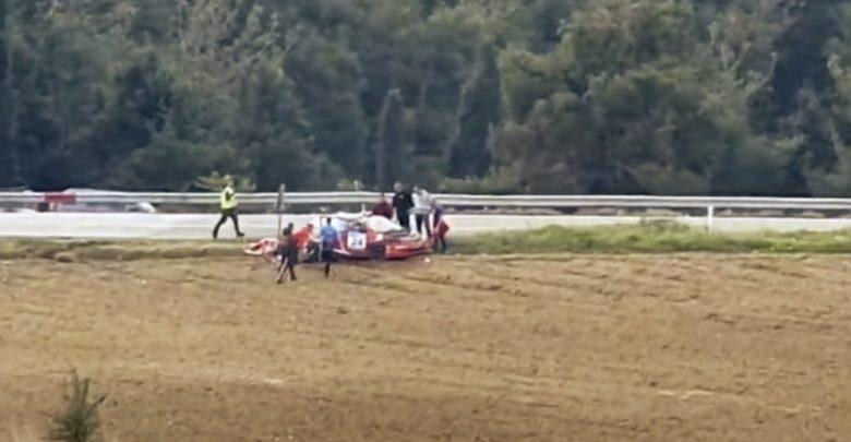 Τρομακτικό ατύχημα σε αυτοκινητιστικό αγώνα στην Ελασσόνα