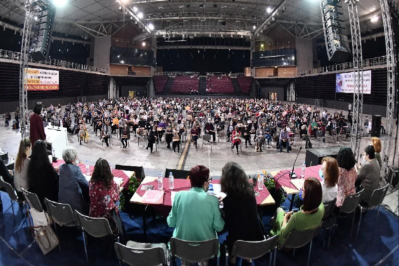 Ολοκληρώθηκε το 13ο συνέδρια της Ομοσπονδίας Γυναικών Ελλάδας με τη συμμετοχή των γυναικών Μαγνησίας