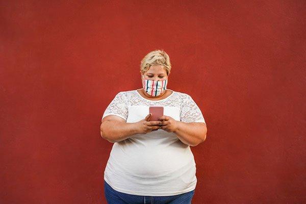 Η παχυσαρκία επηρεάζει αρνητικά ακόμη και τους ασθενείς με ήπια Covid-19