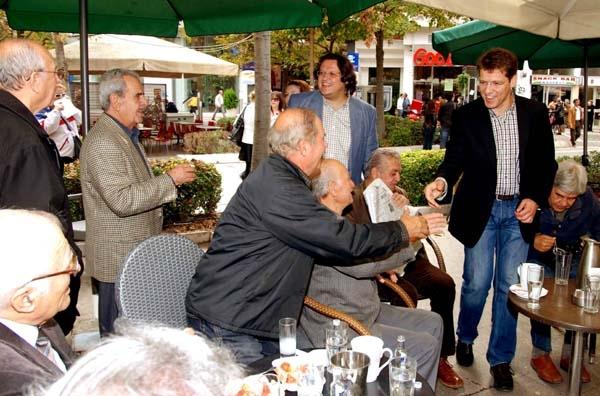 Συνάντηση Απ. Παπατόλια με τον αντιπρόεδρο του ΕΛΓΑ