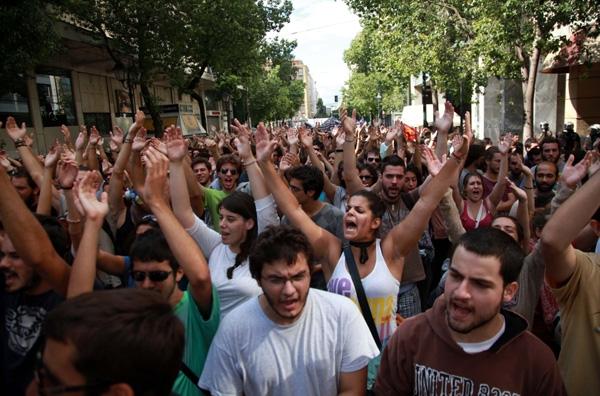 Σε κλοιό ΜΑΤ το πανεκπαιδευτικό συλλαλητήριο