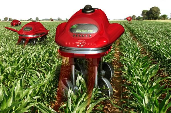 Ρομπότ και μηχανές στα χωράφια