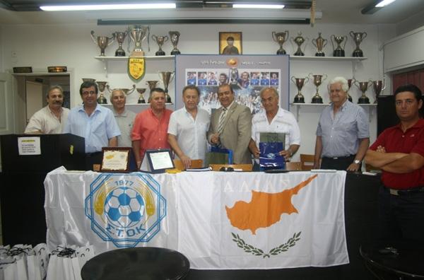 Γέφυρα συνεργασίας της Ε.Π.Σ.Θ. με Κύπρο...