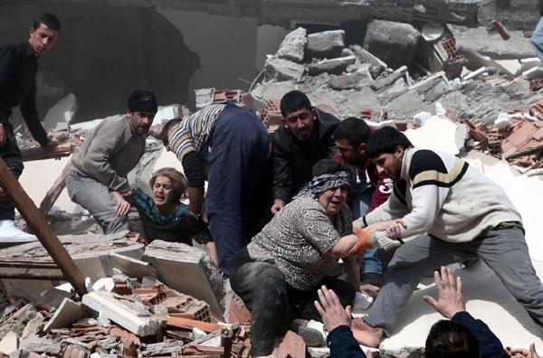 Νέος τρόμος από το σεισμό στην Τουρκία