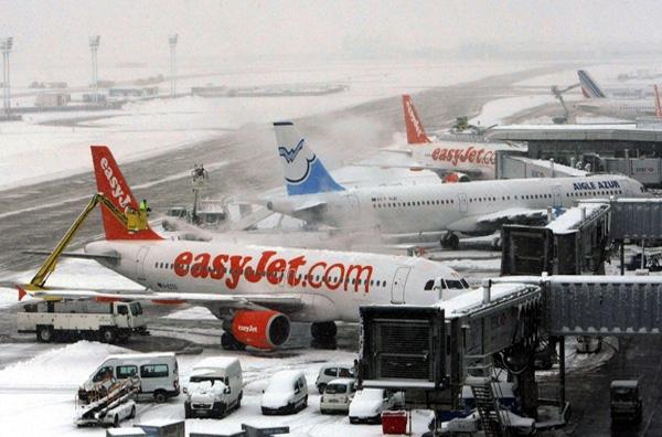 Χάος σε πολλά ευρωπαϊκά αεροδρόμια