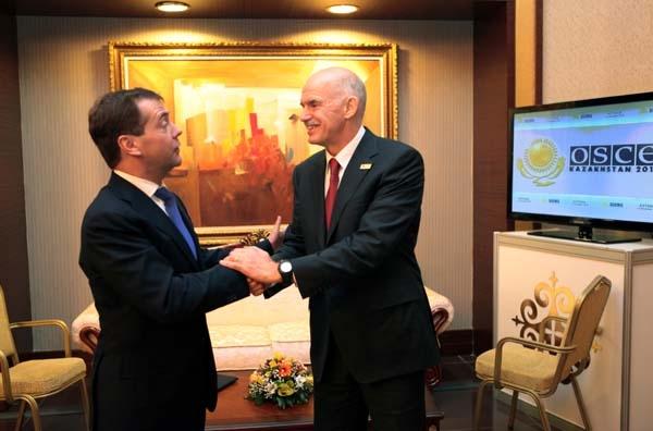 Στην Αθήνα ο Μεντβέντεφ για ΝΑΤΟ και ενέργεια