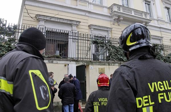 Τρομο-επιστολή στην Ιταλία