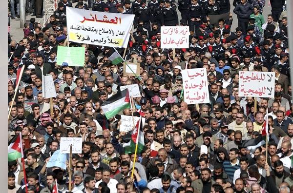 Στους δρόμους διαδηλωτές σε Ιορδανία, Υεμένη, Μπαχρέιν