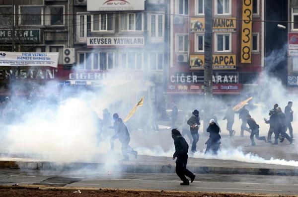 Συγκρούσεις στην Κωνσταντινούπολη