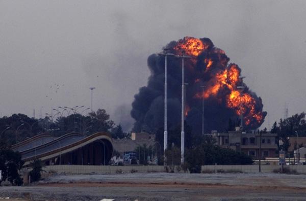 Ξεκίνησαν οι επιχειρήσεις στη Λιβύη