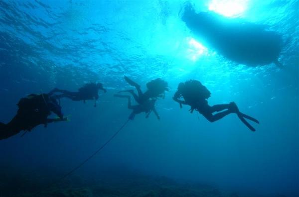 Υποβρύχια δραστηριότητα στην Αλόννησο