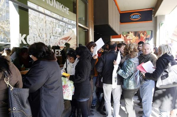 Στα ύψη η ανεργία στην Ελλάδα