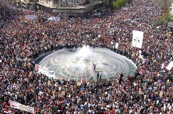 «Ελευθερία» φώναξαν χιλιάδες πολίτες